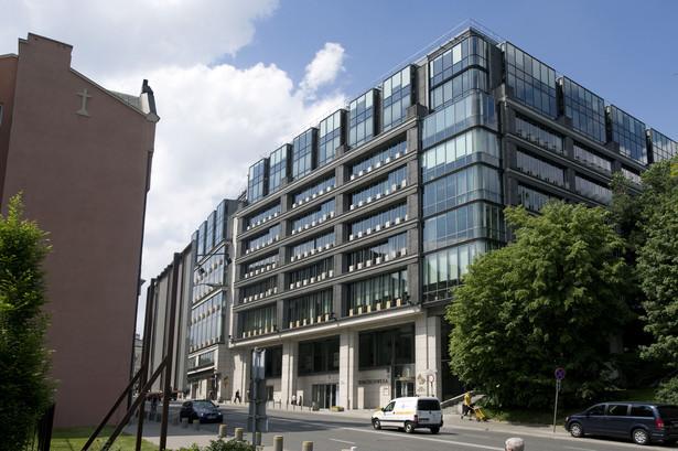 Budynek Giełdy Papierów Wartościowych w Warszawie