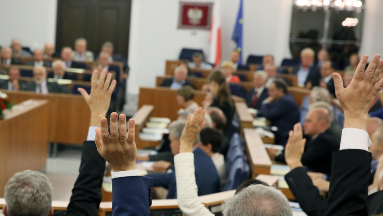 Głosowanie w Senacie