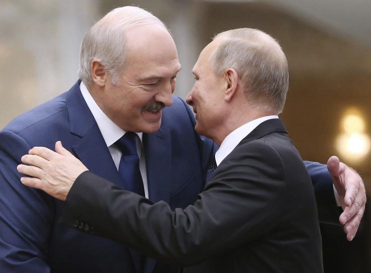 Aleksandar Lukašenko, Vladimir Putin