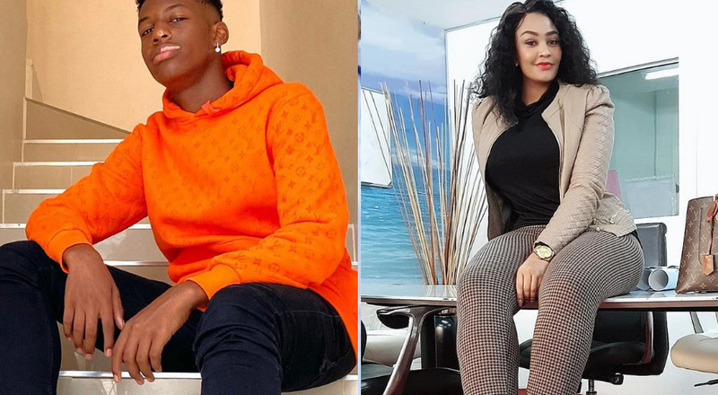 Zari Hassan's son Raphael opens up on Diamond's relationship with his mother
