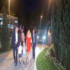 Cecini roditelji Mirjana i Slobodan Ražnatović, sestra Lidija sa suprugom Predragom