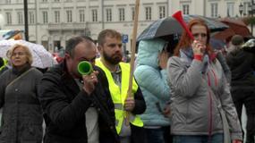Nauczyciele protestowali przeciwko reformie edukacji