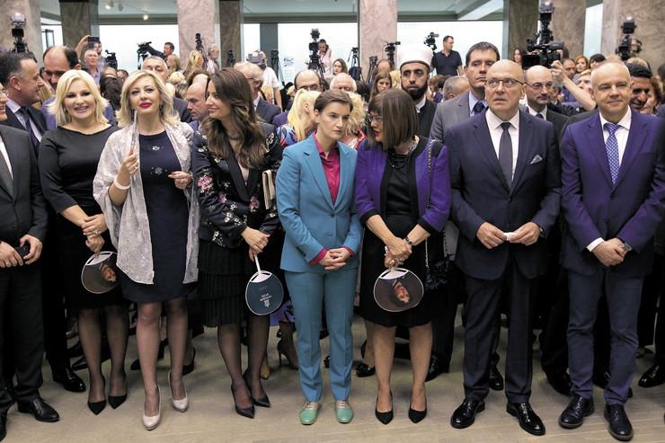 Zene u Vladi srbije Na optur