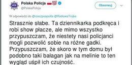 Skandaliczny wpis polskiej policji