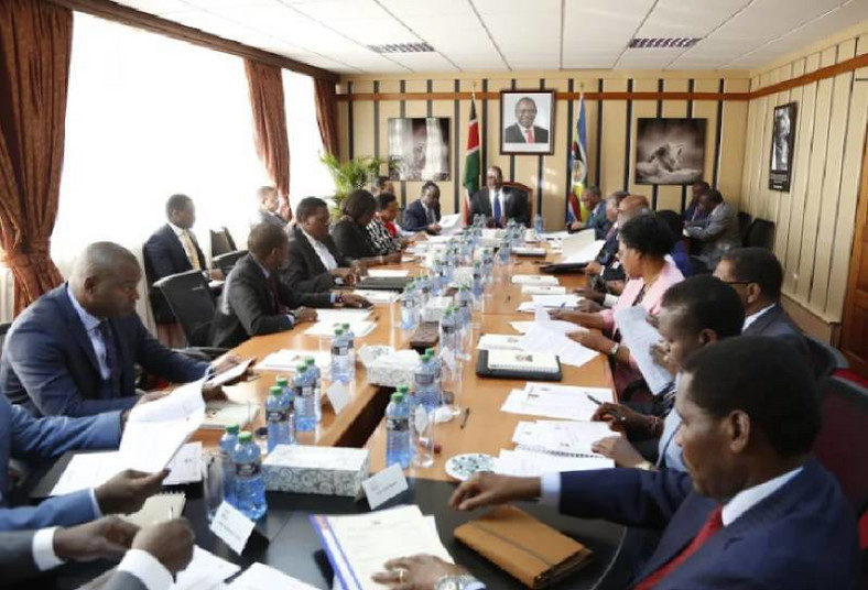 File image of a past Cabinet meeting