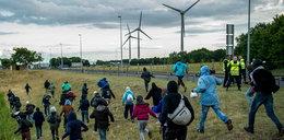 Kolejny szturm imigrantów na tunel w Calais