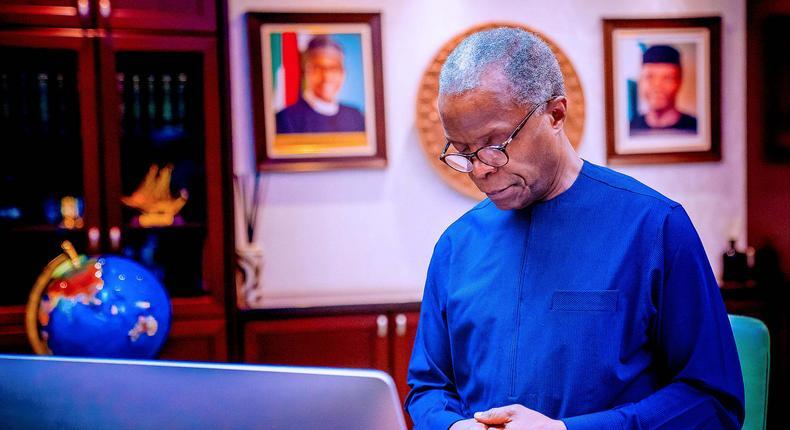 Vice President Yemi Osinbajo [Presidency]