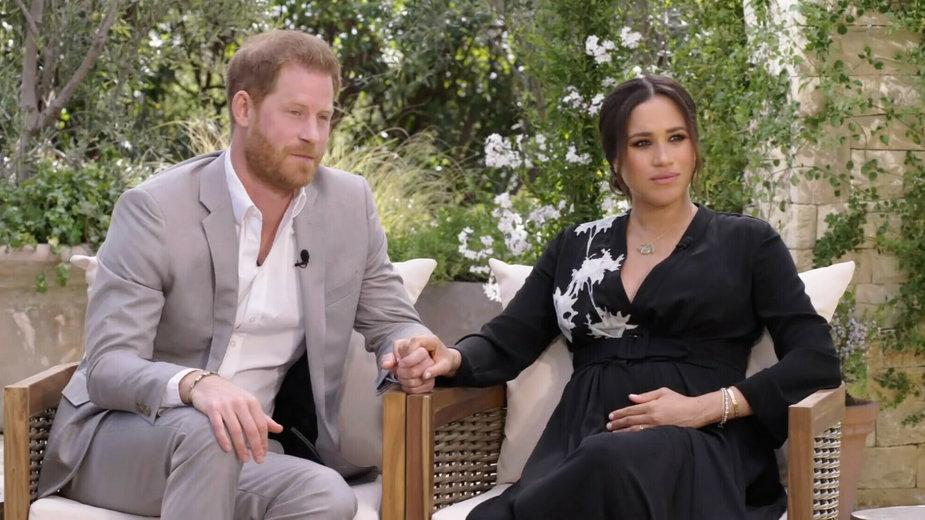 Meghan Markle i książę Harry w programie Oprah Winfrey