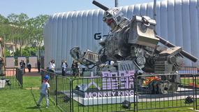 """Bojowy robot"" z Chin"