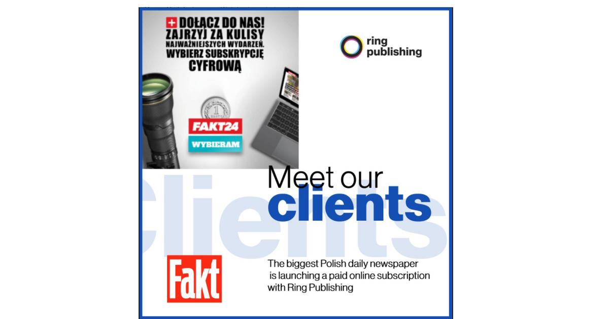 Ring Publishing Client: Fakt