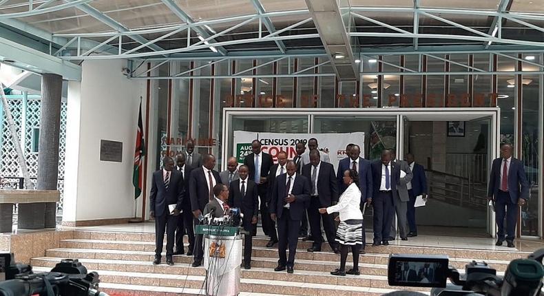 Cabinet presser on census. Kenyans can call 0-800-221020 for updates on 2019 Population and Housing Census - ICT Cabinet Secretary Joe Mucheru