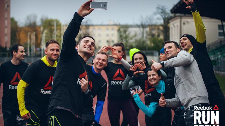 bliżej na dostępność w Wielkiej Brytanii Data wydania Premierowy trening Reebok Run Crew - Czas na bieganie