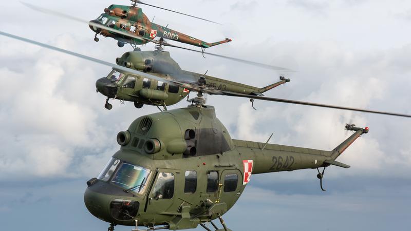 Mil Mi-2 - radziecka konstrukcja, produkowana tylko w Polsce