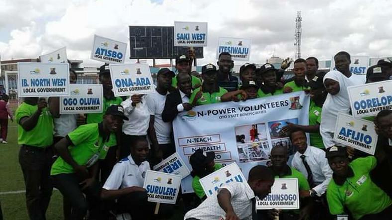 We're not absorbing pioneer N-Power volunteers into civil