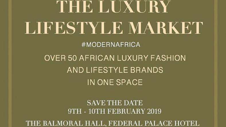 The luxury lifestyle market save the date