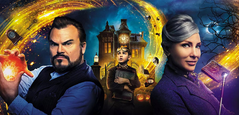 "Poster oficial pentru ""The House with a Clock in its Walls"""