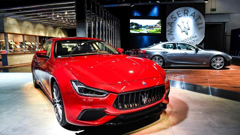 Maserati Ghibli S Q4 GranSport MY18