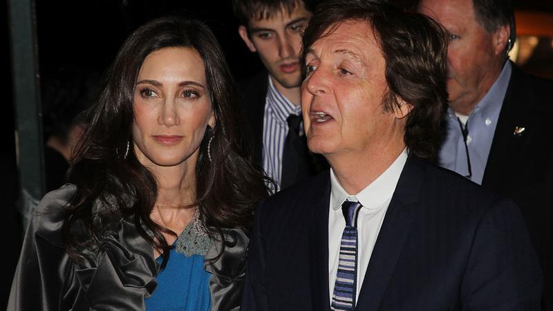 Paul McCartney z żoną Nancy Shevell (fot. Getty Images)