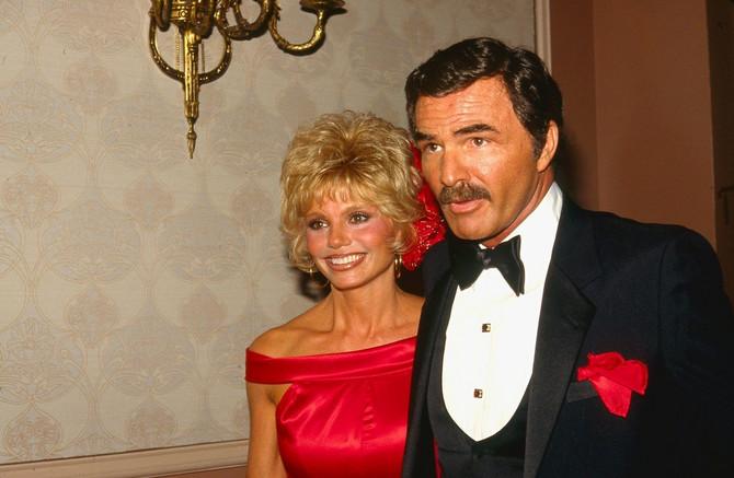 Bert i druga supruga Loni Anderson 1982.