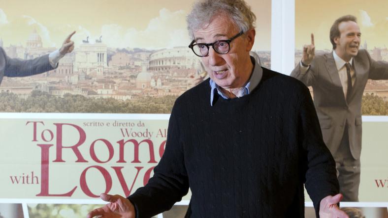 """Woody Allen na włoskiej premierze """"To Rome With Love"""""""