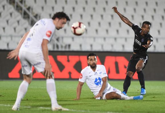 Sejduba Suma je postigao gol za Partizan