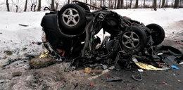 Wstrząsające zdjęcia! Kierowca nie miał żadnych szans