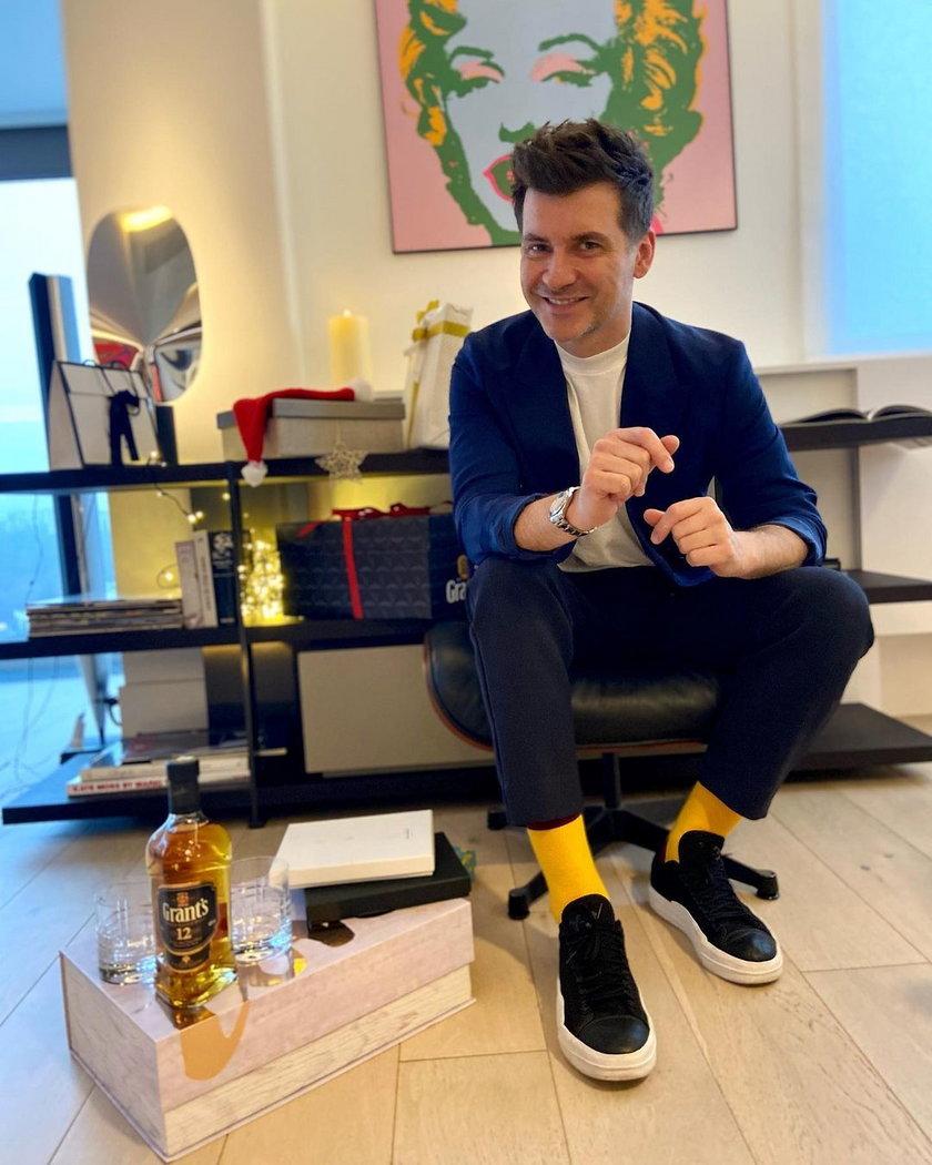 Tomasz Kammel pokazał, jak mieszka. Elegancja i luksus!
