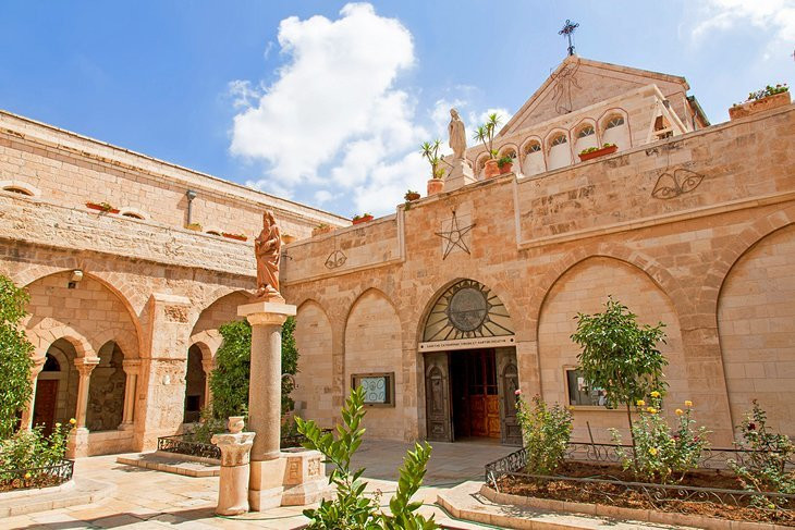 The Church of the Nativity, the birthplace of Jesus