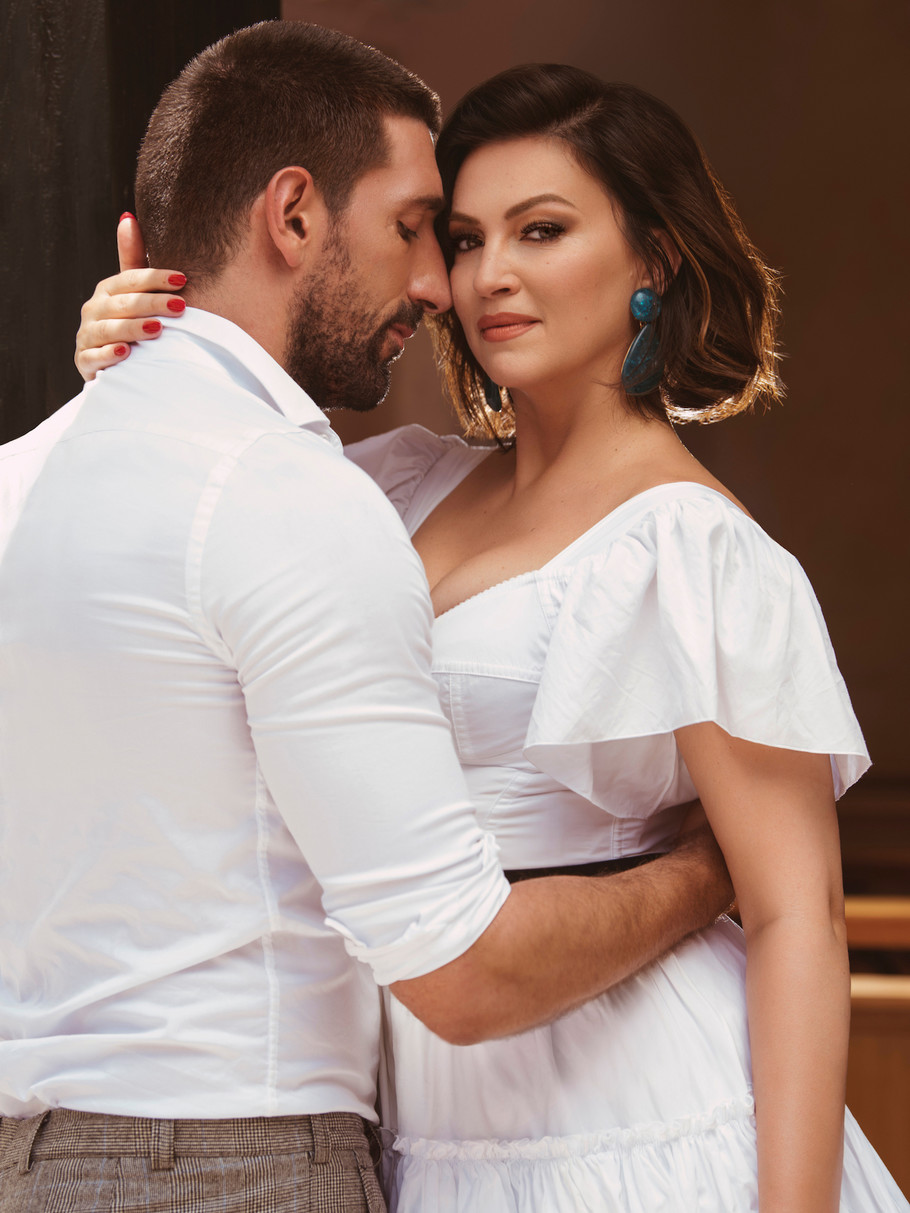 Nina Badrić i Slavko Sobin