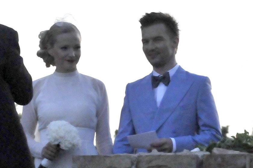 Adam Sztaba i Dorota Szelągowska