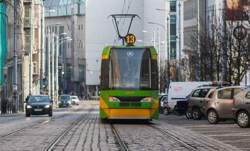 W poznańskich tramwajach apelują o szczepienia przeciwko grypie