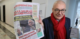 Kontrowersyjna gazeta w Sejmie. Poseł w szoku