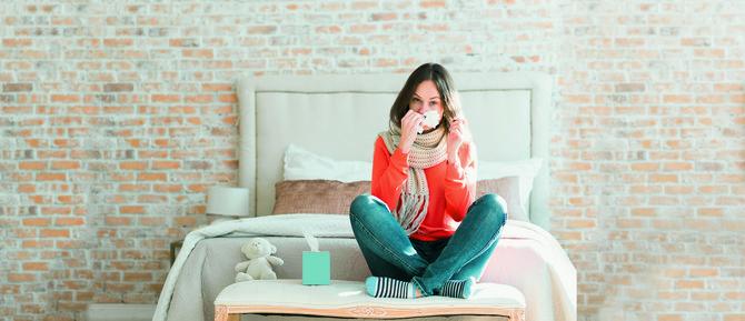Prehlada je okidač za herpes
