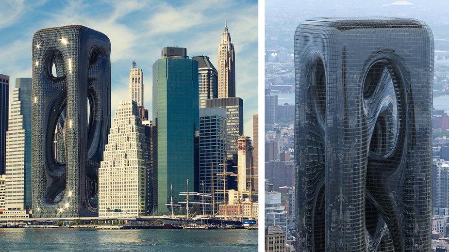 Amorficzny wieżowiec w Nowym Jorku. Projekt budzi kontrowersje!