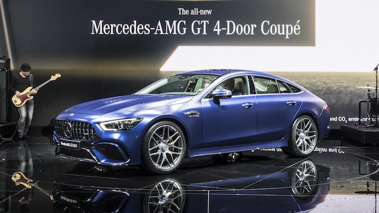 Mercedes-AMG GT 4-Door Coupe: Genewa 2018
