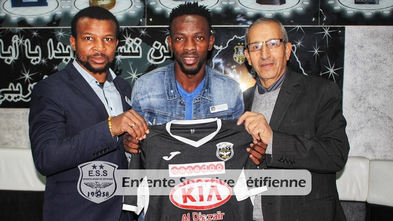 Ifeanyi Ifeanyi will now play for ES Setif in Algeria