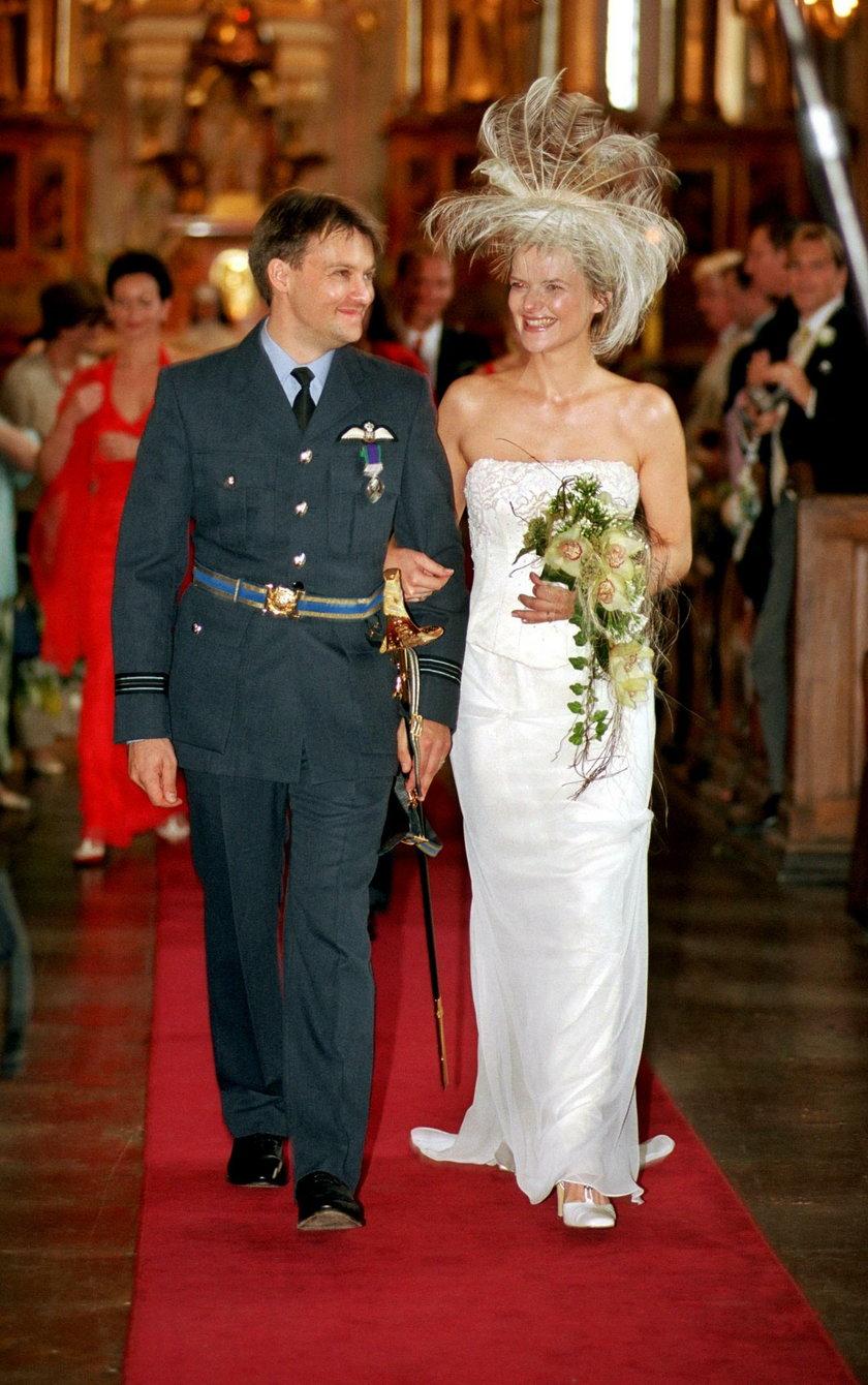 Monika Zamachowska i jej drugi mąż Jamie Malcolm