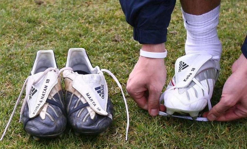 Lewandowski kontra Baros. Pojedynek na buty