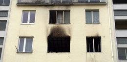 Założył maskę, podpalił mieszkanie i siępowiesił