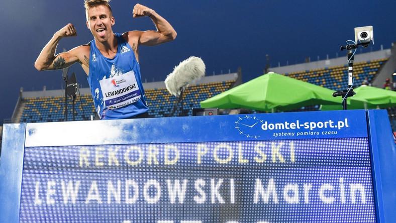 Marcin Lewandowski z rekordem