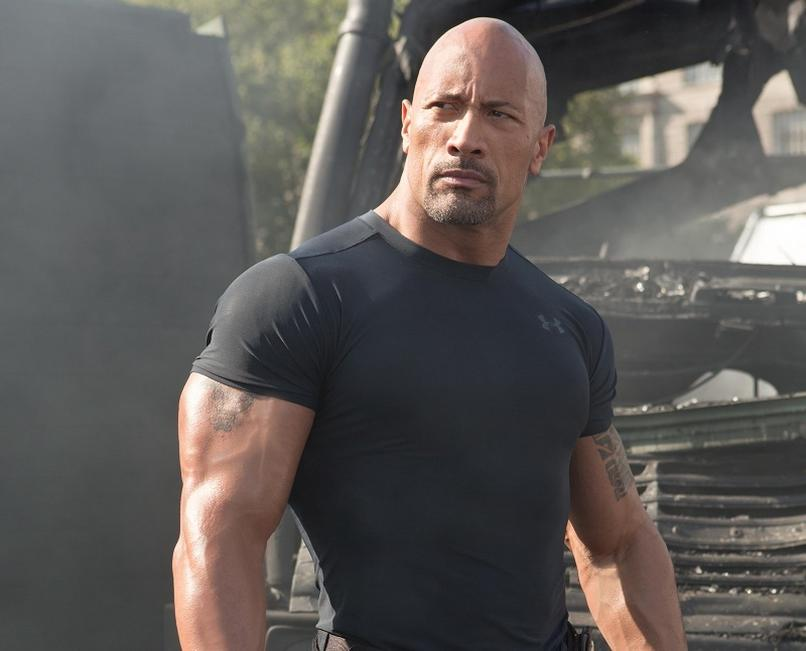 Dwayne Johnson -Luke Hobbs