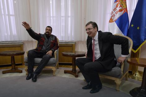 Obećao da će promovisati Srbiju u svetu