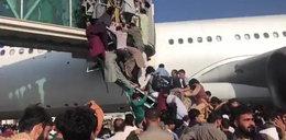 Horror na lotnisku w Kabulu! Czegoś takiego świat jeszcze nie widział. Szokujące nagrania