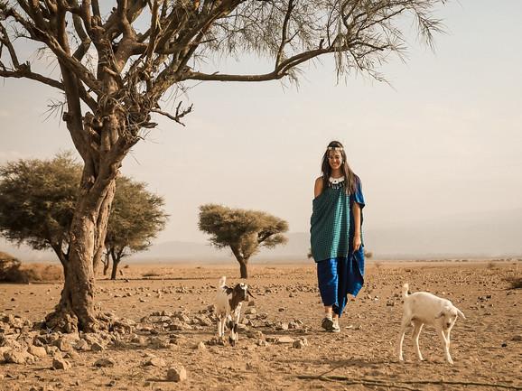 U poseti Masai selu Engaruka