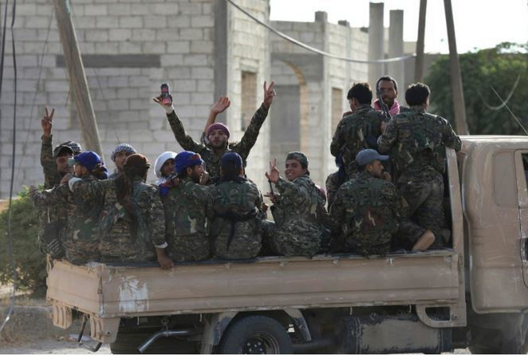 Sirija SDF AP