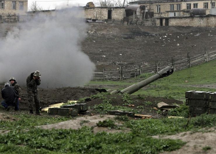 Nagorno-Karabah, Azerbejdžan, Jermenija, jermenska vojska