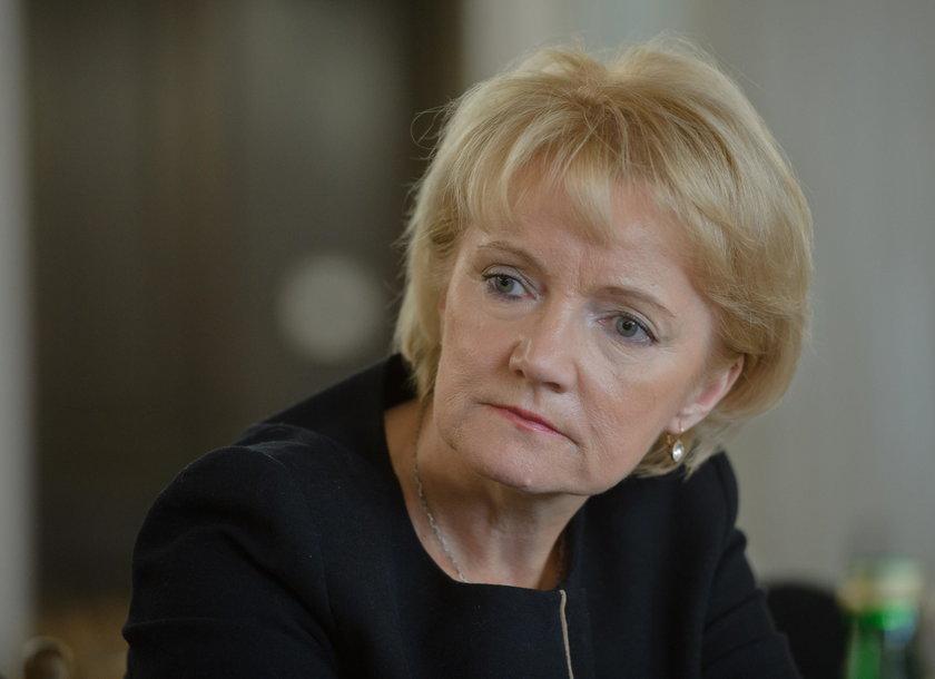 Jolanta Szczypińska pożegnała się z kolegami z PiS. Wiedziała, że umiera