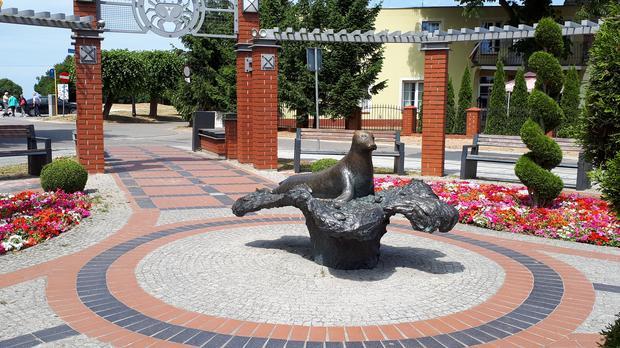 Pomnik foki Depki, Niechorze