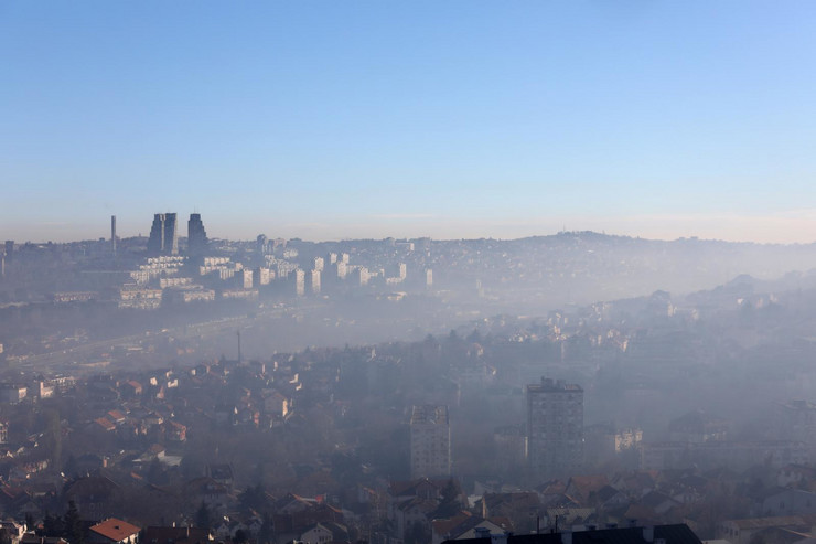 zagadjenje vazduh smog magla