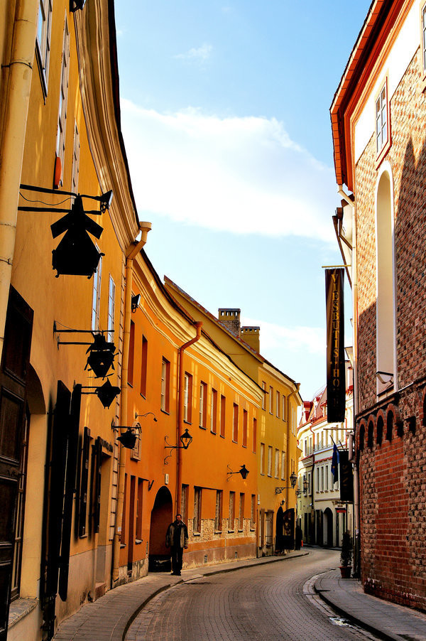 Vilnius. Photo by CitizenFresh on DeviantArt